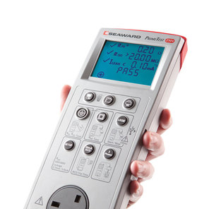 Our hand held portable appliance tester